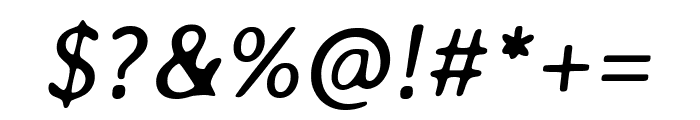 Averia Libre italic Font OTHER CHARS