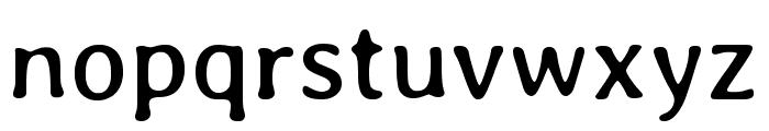 Averia Libre regular Font LOWERCASE