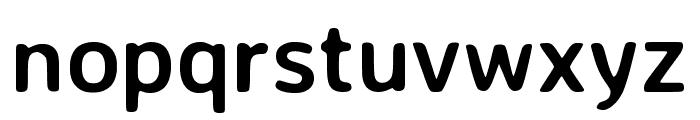 Averia Sans Libre 700 Font LOWERCASE