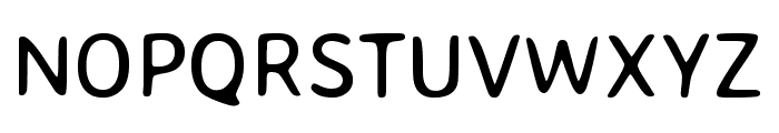 Averia Sans Libre regular Font UPPERCASE