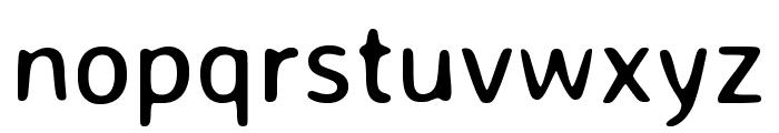 Averia Sans Libre regular Font LOWERCASE