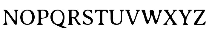 Averia Serif Libre 300 Font UPPERCASE