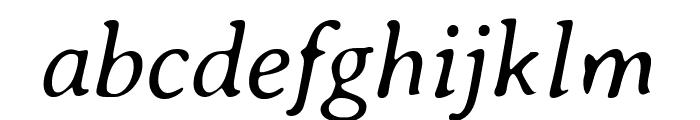 Averia Serif Libre 300italic Font LOWERCASE