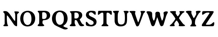 Averia Serif Libre 700 Font UPPERCASE