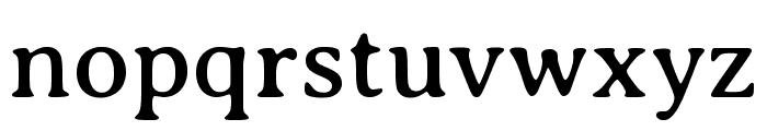Averia Serif Libre regular Font LOWERCASE