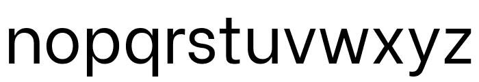 Be Vietnam regular Font LOWERCASE