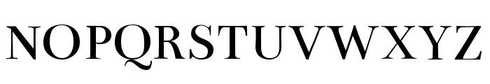 Bentham regular Font UPPERCASE