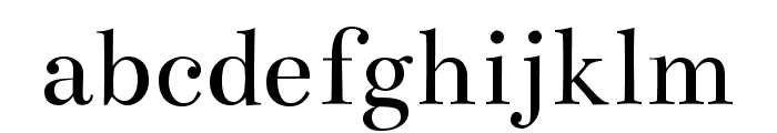 Bentham regular Font LOWERCASE
