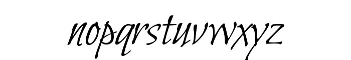 Bilbo Swash Caps regular Font LOWERCASE