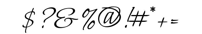Bilbo regular Font OTHER CHARS