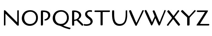 Cagliostro regular Font UPPERCASE
