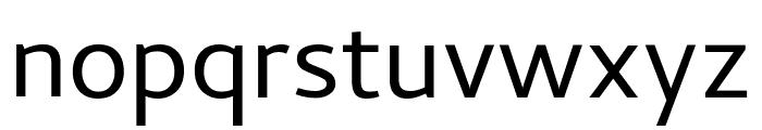 Cambay regular Font LOWERCASE