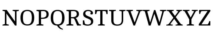 Cambo regular Font UPPERCASE