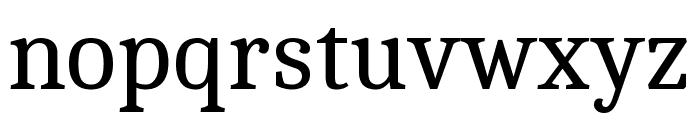 Cambo regular Font LOWERCASE