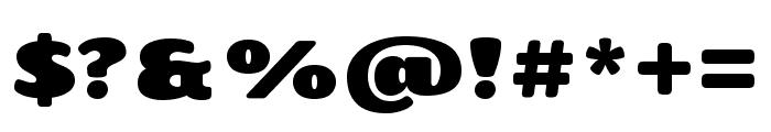 Chango regular Font OTHER CHARS