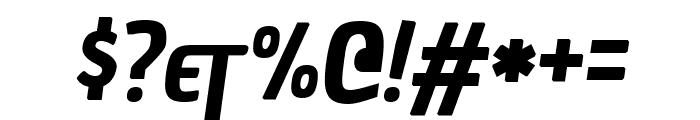 Chau Philomene One italic Font OTHER CHARS
