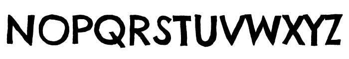 Chelsea Market regular Font UPPERCASE