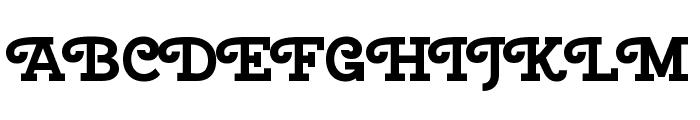 Cherry Swash 700 Font UPPERCASE