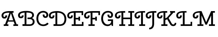 Cherry Swash regular Font UPPERCASE