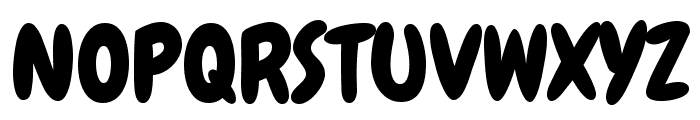 Chewy regular Font UPPERCASE