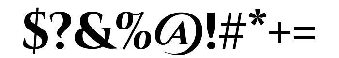 Cinzel 700 Font OTHER CHARS