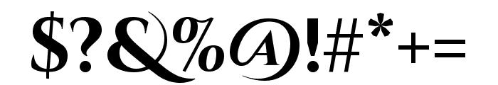 Cinzel Decorative 700 Font OTHER CHARS