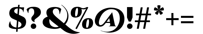 Cinzel Decorative 900 Font OTHER CHARS