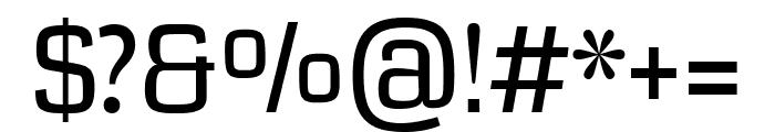 Coda regular Font OTHER CHARS