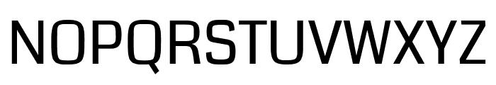 Coda regular Font UPPERCASE