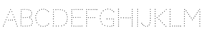 Codystar 300 Font UPPERCASE