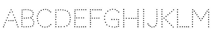 Codystar regular Font UPPERCASE