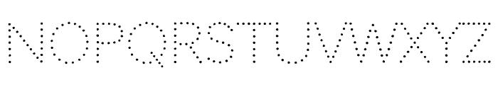Codystar regular Font LOWERCASE