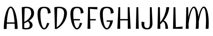 Combo regular Font UPPERCASE