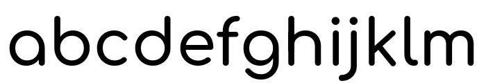 Comfortaa 600 Font LOWERCASE