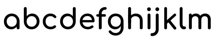 Comfortaa 700 Font LOWERCASE