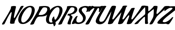 Condiment regular Font UPPERCASE