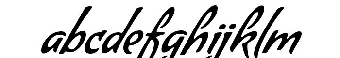 Condiment regular Font LOWERCASE