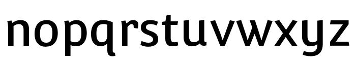 Convergence regular Font LOWERCASE