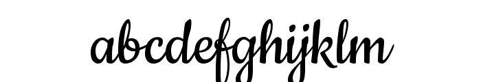 Cookie regular Font LOWERCASE