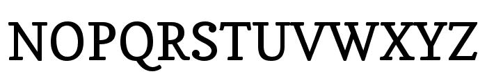 Copse regular Font UPPERCASE