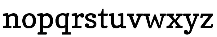 Copse regular Font LOWERCASE