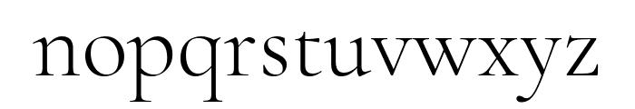 Cormorant 300 Font LOWERCASE