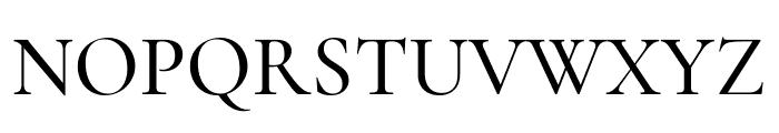 Cormorant 500 Font UPPERCASE