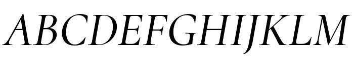 Cormorant 500italic Font UPPERCASE