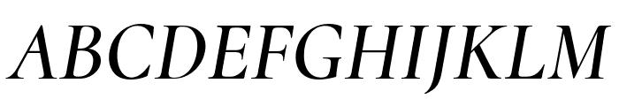 Cormorant 600italic Font UPPERCASE