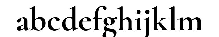 Cormorant 700 Font LOWERCASE