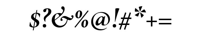 Cormorant 700italic Font OTHER CHARS