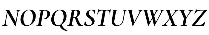 Cormorant 700italic Font UPPERCASE