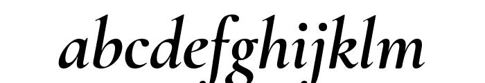Cormorant 700italic Font LOWERCASE