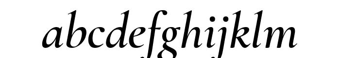 Cormorant Garamond 600italic Font LOWERCASE